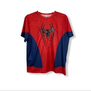 Marvel Spider-Man Men's Shirt Size L/XL